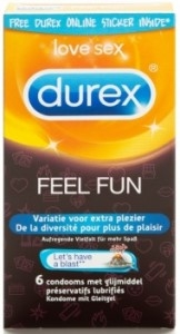 Durex Emoij Feel fun